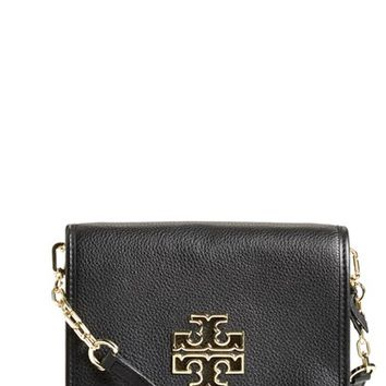 Tory Burch 'Britten' Leather Crossbody Bag