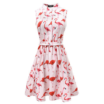 Fun Prints Casual Dress