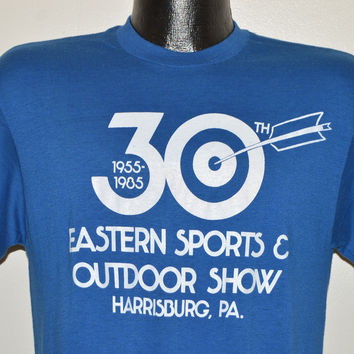 80s Eastern Sports 1985 Outdoor Show t-shirt Medium