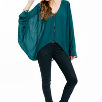 Jasmine High Low Blouse $39