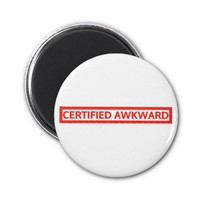 Certified Awkward Stamp Magnets