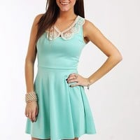 Tea In Venice Dress, Mint