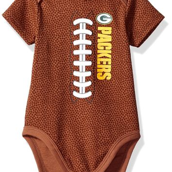 Green Bay Packers Toddler Football Bodysuit