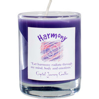 Soy Herbal candle for Harmony