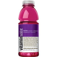 Vitamin Water Revive Fruit Punch 20 oz Bottles - Case of 24