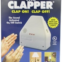 The Clapper Sound Activated On/Off Switch, 1 Each: Health & Personal Care