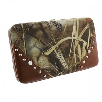 Realtree Camouflage All Purpose Deep Frame Wallet - W0057