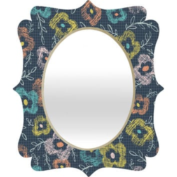Heather Dutton Summerlicious Quatrefoil Mirror
