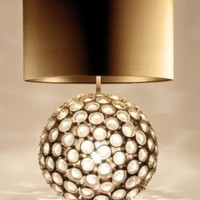 Crystal Table Lamp - Opulentitems.com