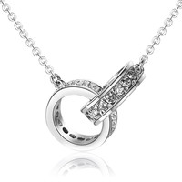 925 Sterling Silver Pendant Necklace Star Elite Jewelry