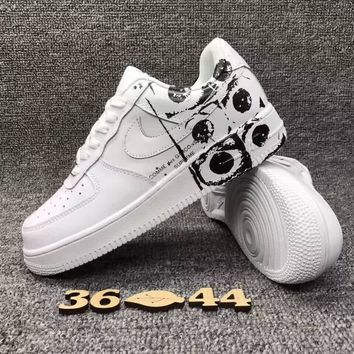 Nike Air Force 1 One Low Supreme x CDG x Running Sport Casual Shoes