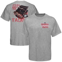 Georgia Bulldogs Tackle T-Shirt - Ash