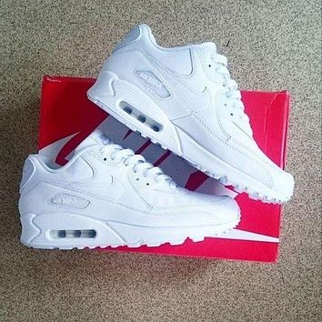 NIKE AIR MAX 90 Women Fashion Casual Running Sport Sneakers Shoes