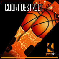Custom Nike Elite Socks : Court Destruct