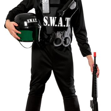 Rubies Young Heroes Childs S.W.A.T. Team Costume Small