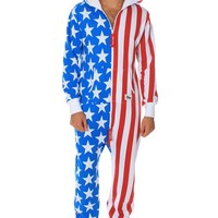American Flag Jumpsuit | Tipsy Elves