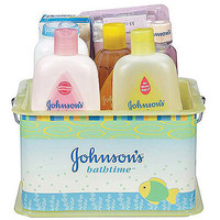 Walmart: Johnson's Bathtime Essentials Baby Gift Set