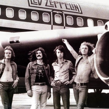 Led Zeppelin Starship Airplane XL Giant Poster 37x54