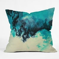 Caleb Troy Painted Clouds V Throw Pillow