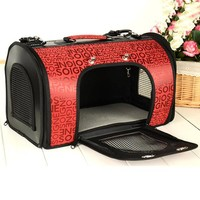 6 Style Choices Pet Dog Cat Puppy Kitten Carrier Portable Cage Crate Transporter S-L
