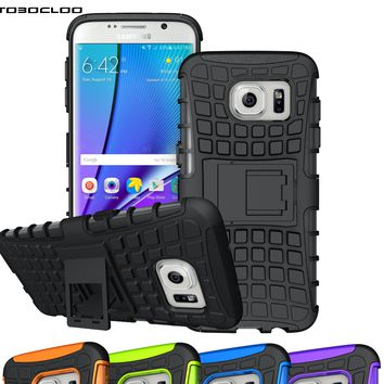 Heavy Duty Armor Shockproof Slim Case For Samsung Galaxy S3 S4 S5 S6 S7 edge S8 Plus A3 A5 A7 2016 2017 J5 J7 Prime J1 J3 Cover