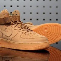 "Nike Air Force 1 High 882096-200 ""Flax"""