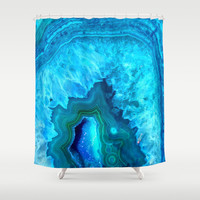 Crystal beauty Shower Curtain by Haroulita