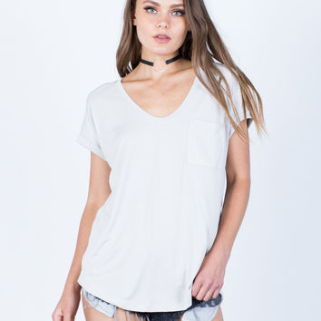 Super Soft Cuffed T-Shirt