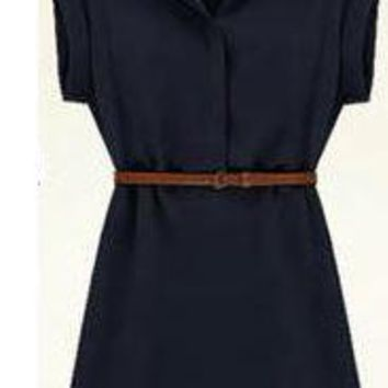 Womens Trendy Casual Office Work Dress