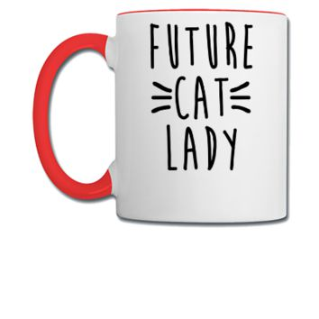 Future Cat Lady - Coffee/Tea Mug