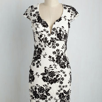 Your Finest Flower Dress | Mod Retro Vintage Dresses | ModCloth.com