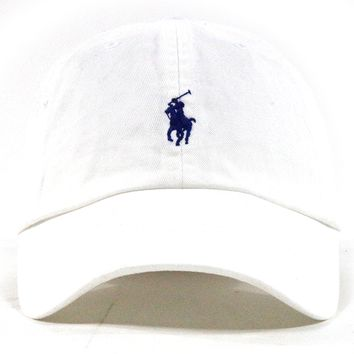 "Polo Dad Hat ""White"""