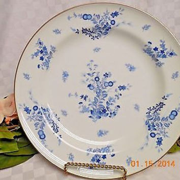 Mikasa China Dinnerware Westwind Pattern #: L1008 in blue Dinner plate