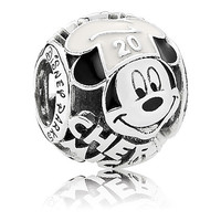 disney parks 20th food & wine mickey chef pandora jewerly charm new with pouch