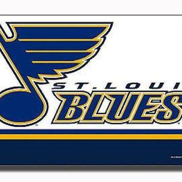 LMFOK8 St Louis Blues PV Rico 3x5 Flag w/grommets Outdoor House Banner NHL Hockey