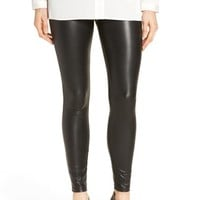Hue 'Leatherette' Faux Leather Leggings | Nordstrom