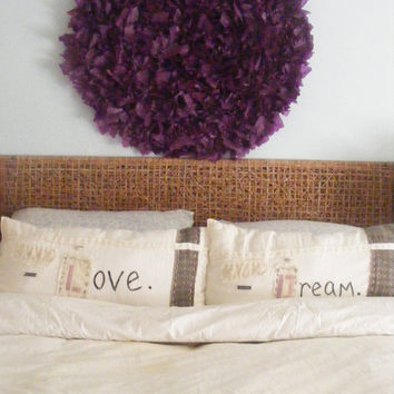 ANTHROPOLOGIE Style - Custom Made Pillows