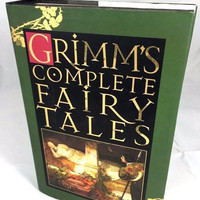 Grimms Complete Fairy Tales 1993 Barnes & Noble Books New York Hardbound