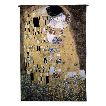 PCI ''The Kiss'' Tapestry Wall Decor