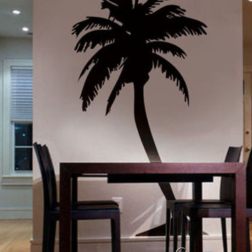 Vinyl Wall Decal Sticker Large Palm Tree #132