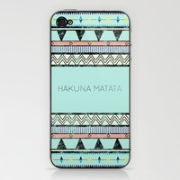 Hakuna Matata iPhone & iPod Skin by Lala | Society6