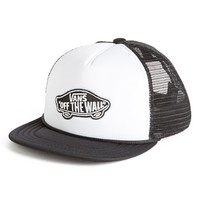 Boy's Vans Logo Patch Trucker Hat