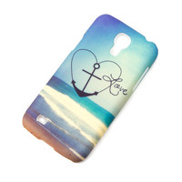 Anchored in Love Beach Cover for Samsung Galaxy S4 Mini