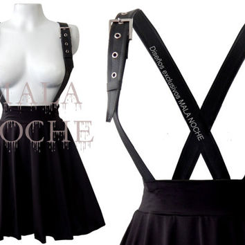 Goth skirt, black dress, leather dress, bdsm, dark dress, leather skirt, goth dress, Witch skirt