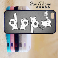 Dope,iPhone 5 case,iPhone 5C Case,iPhone 5S Case, Phone case,iPhone 4 Case, iPhone 4S Case,Case