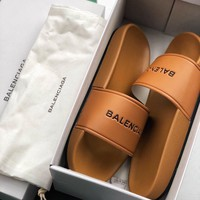 Balenciaga Summer beach sandals and slippers-5
