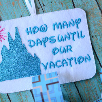 Vacation Countdown - How Many Days Until We Go On Vacation - Disney Countdown
