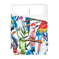 Paradise of Birds Duvet Cover