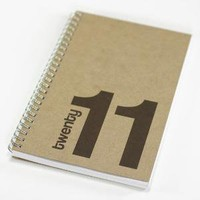 twenty 11 planner brown and blue by redstarINK on Etsy