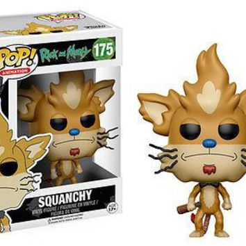 Funko Pop Animation: Rick & Morty - Squanchy